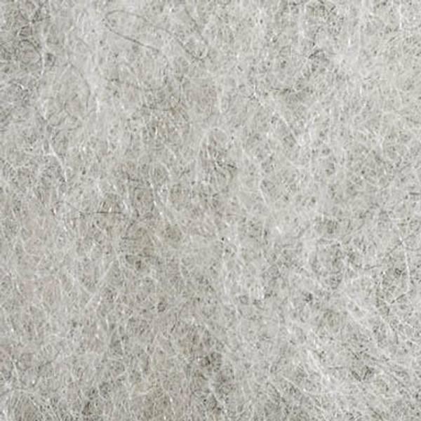 Bilde av Kardet vasket, lys grå 100g